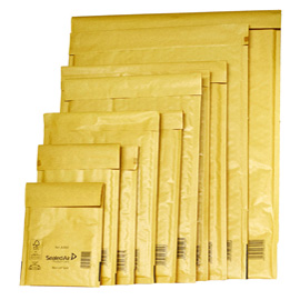 10-Buste-imbottite-GOLD-A-11X16cm-UTILE-avana-MAIL-LITE®-SEALED-AIR®